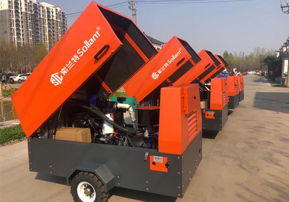 Diesel-air-compressor