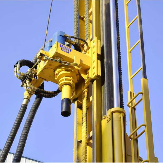 Deep-well-drilling-machine