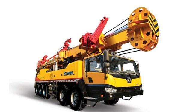 Trailer-Mounted-Drill-Rig